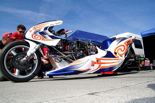 Eric Teboul Top Fuel Bike